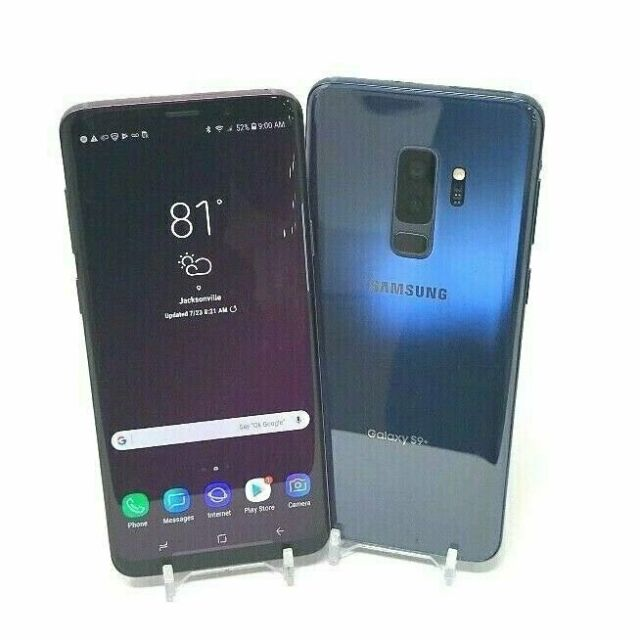 Samsung Galaxy S9+ Plus - 64GB ( Sprint/AT&T/GSM Unlocked/T-Mobile ) Clean IMEI