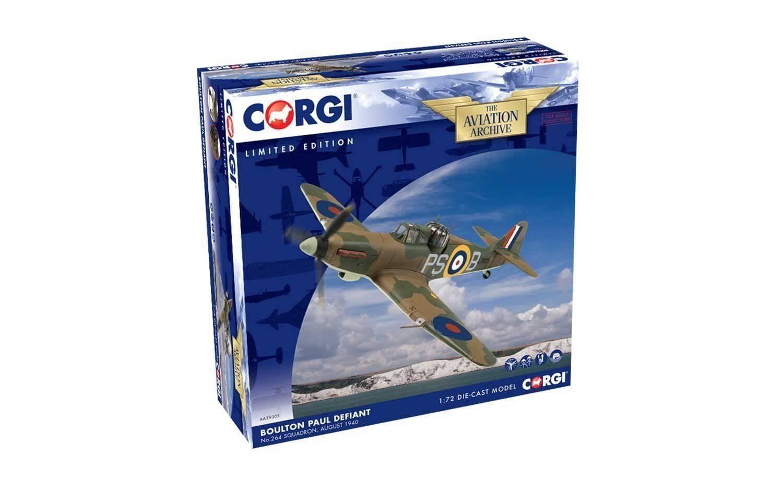 entrega gratis Corgi Corgi Corgi AA39305 de la segunda guerra mundial 1 72 Boulton Paul Defiant, escuadrón de No.264, agosto 1940 Reino Unido  muchas sorpresas