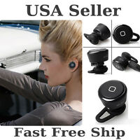 Smallest Wireless Bluetooth Mini Headset Earphone For Iphone Tablet Samsung