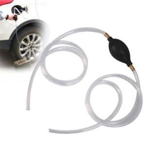 Fuel-Pump-Petrol-Diesel-Liquid-Hand-Squeeze-Suction-Oil-Transfer-Hose-Tube-GO9