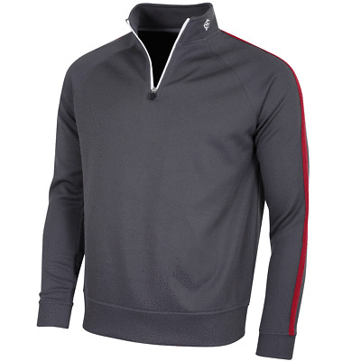 Island Green Mens Golf Half Zip Mid Layer Thermal Sweater 58% OFF RRP
