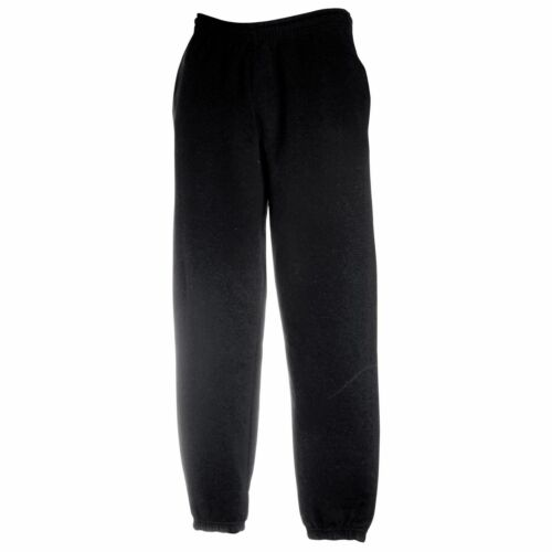 FRUIT OF THE LOOM 80//20 Elasticated Pants Casual Jog Bottom Classic Sweat Pants