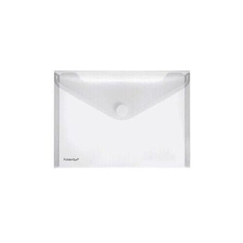 FOLDERSYS Dokumententasche 40102-04 A5 quer transparent 10 St.//Pack