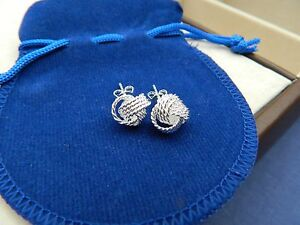 Stud earrings silver plated celtic knots - <span itemprop=availableAtOrFrom>Colchester, United Kingdom</span> - Stud earrings silver plated celtic knots - Colchester, United Kingdom