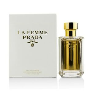 9fb8839a81 Details about Prada La Femme Eau De Parfum Spray 50ml Womens Perfume