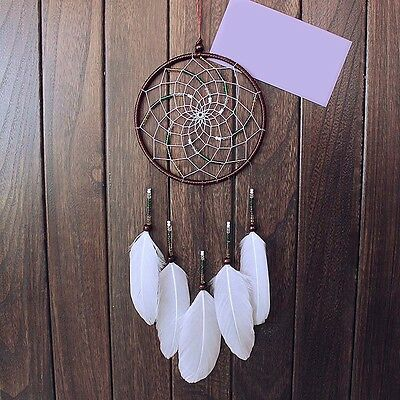 Handmade Dream Catcher Net With feathers Car Home Hanging Decoration Craft Gift