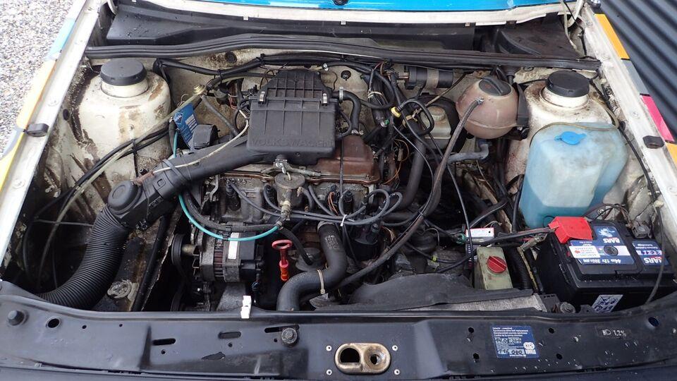 VW Golf II 1,6 CL aut. Benzin aut. Automatgear modelår 1989