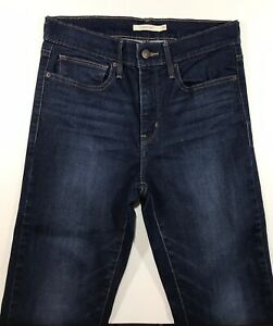 Women-039-s-Jeans-Levis-Slimming-Boot-Size-30-Blue-Cotton-Polyester-Elastane-NWT