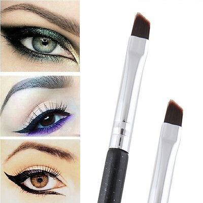 1PC Professional Cosmetic Eye Angled Eyebrow Lip Eyeliner Brush Makeup Tool Gril