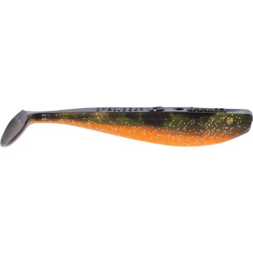Orange Craw Manns Angeln Gummiköder Gummifisch Shad Q-Paddler 8cm 1St