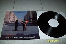 PINK FLOYD  WISH YOU WERE HERE LIVE IN PARIS, 1977 / LP