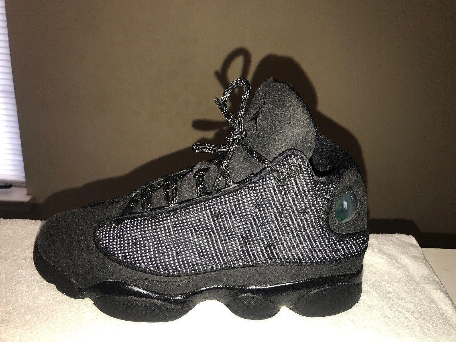 timeless design 3703a b8f3a Nike Nike Nike Air Jordan XIII Retro Black Cat Anthracite Sz - 6.5youth  f7614d