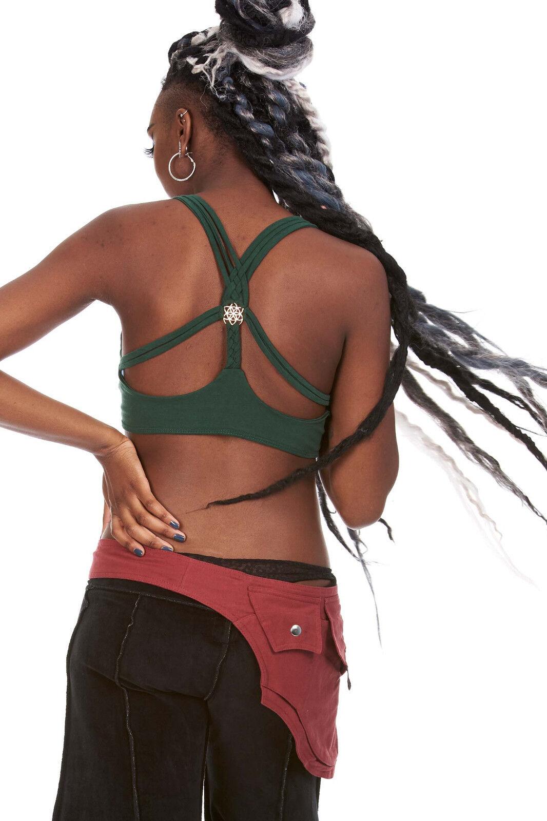 Goa Haut Haut Haut Bikini, Yoga vêtements, fleur de vie Soutien-gorge, hippie bustier, 5f7b01