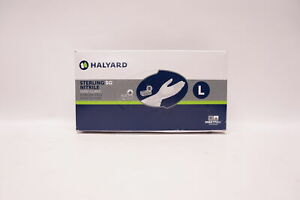 Halyard-41660-SG-Nitrile-Sensi-Guard-Powder-Free-Exam-Gloves-L-Box-of-250