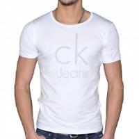 T-Shirt Calvin Klein Herren CK Themke Weiß