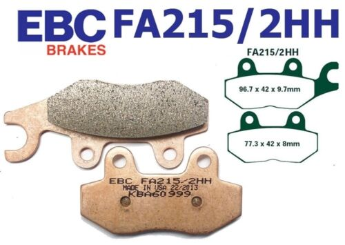 EBC Bremsbeläge FA215//2HH HINTEN TRIUMPH Tiger 1050 Radial caliper 07-10