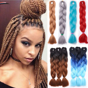 Image Is Loading 5 Pcs Jumbo Braiding Hair Extensions Twist Dreadlock