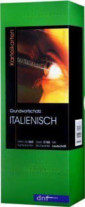 Grundwortschatz Italienisch Mehr als 860 Karteikarten | Buch | Zustand gut