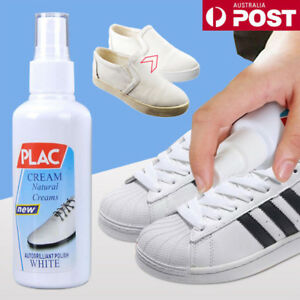 100ml Clear Magic Refreshed White Shoe Cleaner Cleaning Polish Tool Kit Hot UE