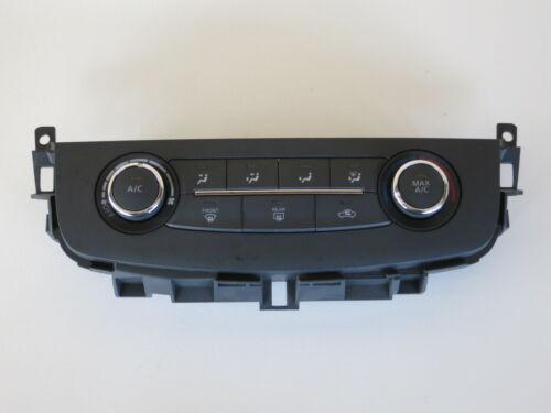 16 17 Nissan Altima Climate Control Panel Temperature Unit A//C Heater