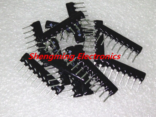 100x Resistor Network A09-103 10K Ohm 8 Commoned Resistor Network Array 9 PIN