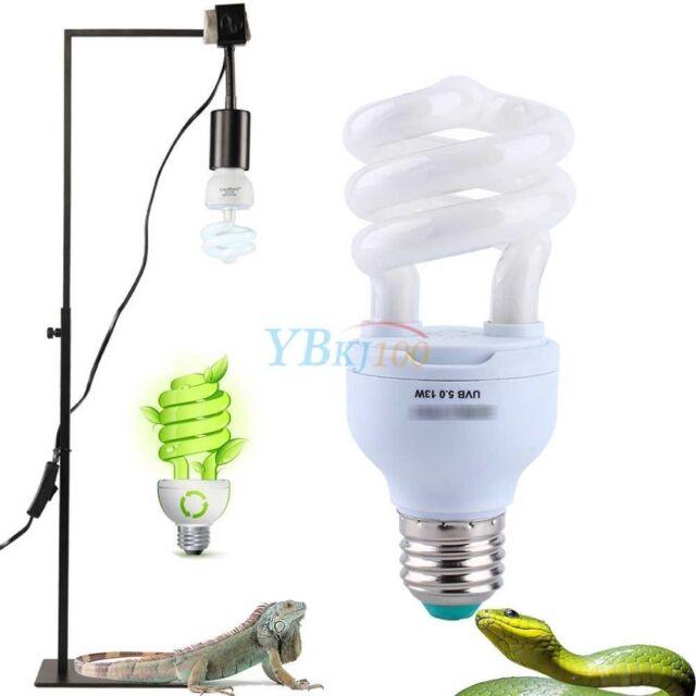 5 0 13w ampoule lampe lumi re calcium uv uvb pour tortue. Black Bedroom Furniture Sets. Home Design Ideas
