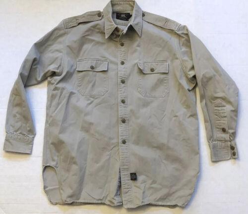 Ralph Lauren RRL Men's L/XL Double RL Cotton Milit