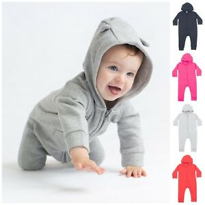 Baby Toddler Girl Boy Animal Ears Costume Romper Play Pyjama All In One Suit