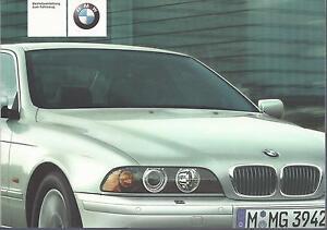 BMW-5er-E39-Betriebsanleitung-2001-Bedienungsanleitung-520-525-530-535-540-BA