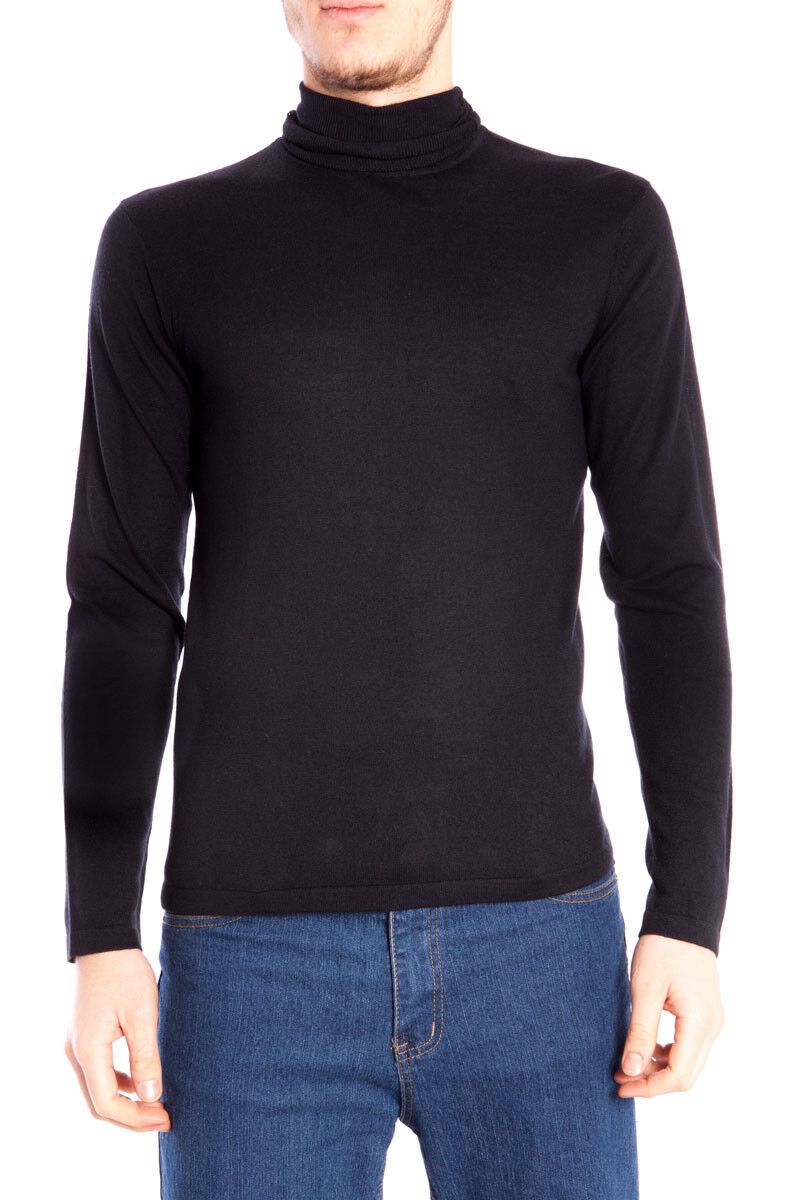 Maglia Maglietta Armani Jeans AJ Sweater Pullover P/E Seta  Herren Blu N6W29 L8