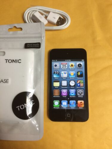 1 of 1 - Apple iPod touch 4th Generation Black - (8GB)