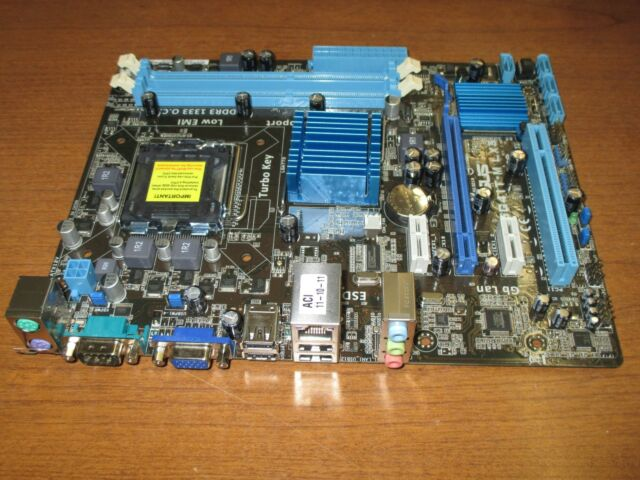 Asus P5g41t Socket T  Intel Motherboard For