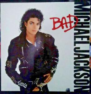 MICHAEL JACKSON Bad Gatefold Album Released 1987 Vinyl Collection USA