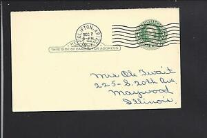 CLIFTON-ARIZONA-1951-GOVERNMENT-POSTAL-CARD-GREENLEE-CO-1875-OP