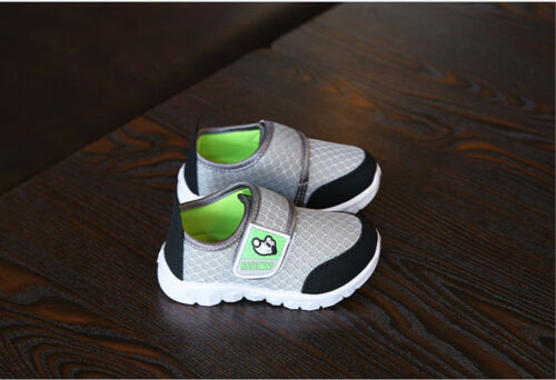 Fashion Baby Casual Shoes Infant Boys Girls Walking Shoes Mesh Breathable