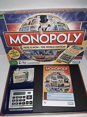 2008 Monopoly Here & Now World Edition Electronic Banking Unit To Win Warm Praise From Customers