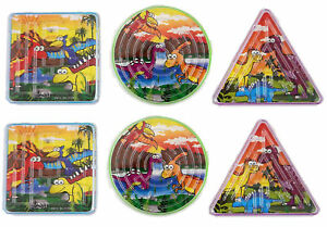 6-Dinosaur-Maze-Puzzles-Games-Pinata-Toy-Loot-Party-Bag-Fillers-Wedding-Kids