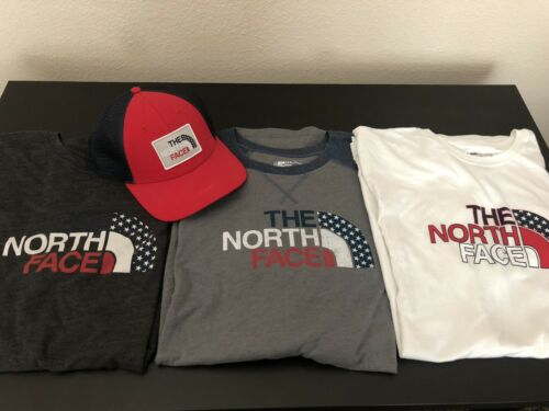 North Face Shirts With Matching Hat Men