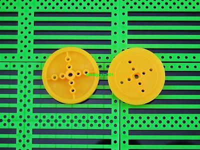 10pcs 362A yellow Pulley Motor gear plastic Eccentric wheel