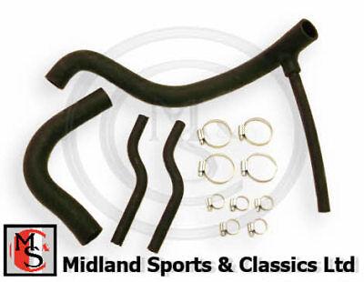 MGB Radiator bottom hose Silicone 1976-1980 NEW part no GRH641X Moss Europe