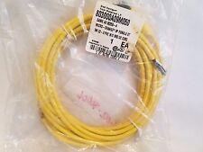 Brad Harrison 803000A09M050 Micro-Change 3P Female Connector Cable 80259-A NEW