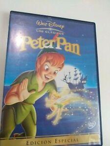 Dvd-peter-pan-walt-Disney-edicion-especial