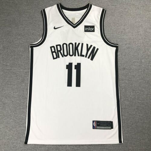 Classic Kyrie Irving #11 Brooklyn Nets Basketball Jersey Stitched White