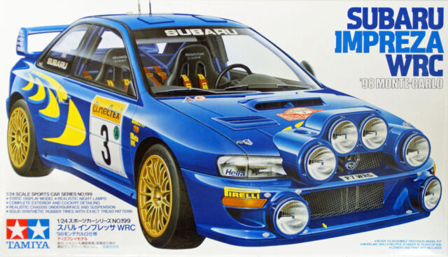 Tamiya 24199 Subaru Impreza WRC '98 Monte-Carlo 1/24 kit