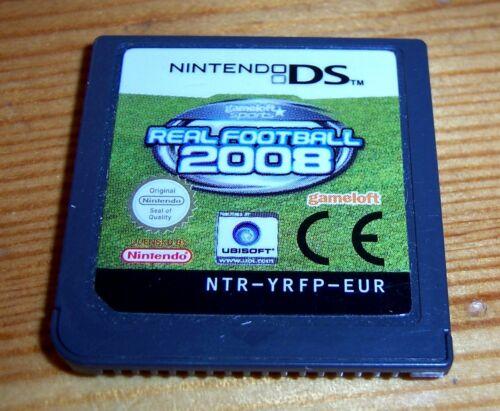 1 von 1 - Real Football 2008 (Nintendo DS, 2007) Spielmodul