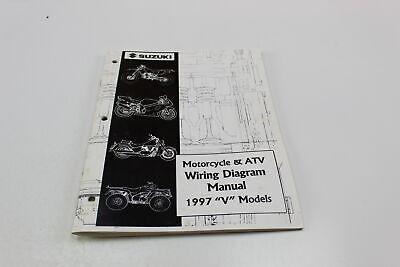 1997 SUZUKI V MODELS MOTORCYCLE & ATV WIRING DIAGRAM ...