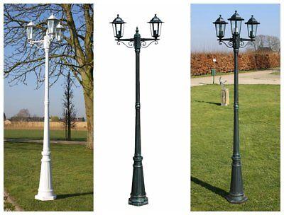 Gartenlaterne Straßenlaterne Gartenlampe Aussenleuchte Beleuchtung 215CM 60W