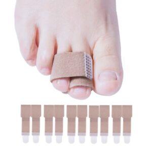 Sumifun-20pcs-Toe-Splint-Straightener-Toe-Wrap-Anti-Slip-Brace-Hammer-Toe-D1179