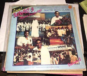 Mattie-Moss-Clark-Live-U-N-A-C-5-Miami-Beach-1980-Volume-3-Rare-Gospel-Soul