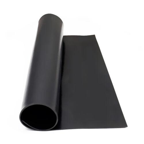 50x50cm Oil Resistant Solid Neoprene Silicone Black Rubber Sheet Gasket DIY Home